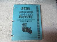 SCUD RACE SUPER GT    arcade game manual