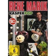 "RENÉ MARIK ""KASPERPOP"" DVD NEUWARE"
