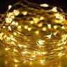 10M100 LED Flexible Wasserdicht Lichterkette Innen Außen Micro Kupfer Draht NEU
