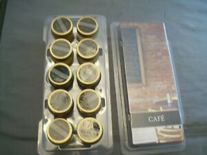 Gold Canyon Candles Cafe Series Sampler Set B--10 Different Scents