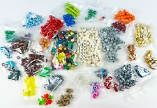 Sorted Lot of LEGO Heads (1lb 2oz)