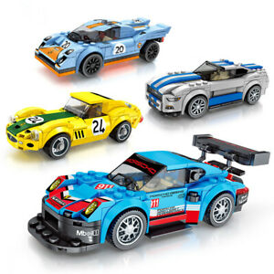 607017-607020 Sembo Blocks DIY Kids Building Toys Boys Puzzle Car Model 715pcs