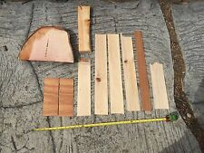 Assorted Tropical Hawaiian Woods macadamia Nut, Norfolk Pine, Cypress, Koa