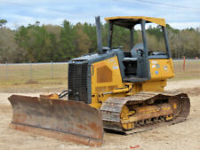 "2011 John Deere 550J Lt Crawler Dozer Tractor 121"" 6-Way Blade Diesel bidadoo"