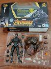 Sh Figuarts Black Panther Avengers Infinity War 1/12 Figure With Tamashii Rock