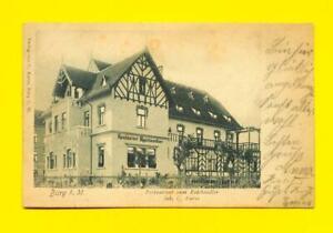 Ak Burg bei Magdeburg - Gasthaus zum Reichsadler 1903