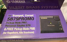 YAMAHA Silent Brass SB7-9 Promo for trumpet, cornet [Electronics]
