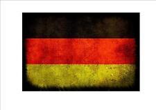 Germany German aged flag metal sign vintage style German flag sign
