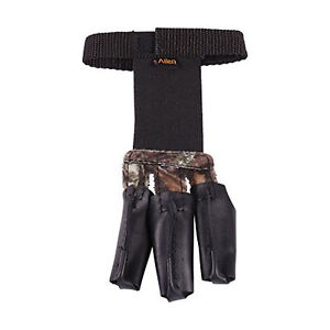 Allen Archery bow 3 finger shooters glove LARGE camo LG leather saver hunting