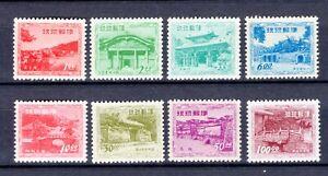 Ryukyu 1952-53 complete Scott #19-25 set 5 stamps MNH OG 2x hinged