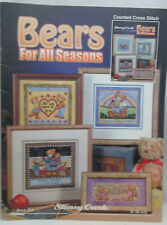 Stoney Creek Bears for All Seasons Counted Cross Stitch Pattern #354