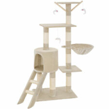 Cat Activity Tree Scratching Climbing Centre Sisal Bed Toys Scratcher Tower