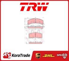 GDB1273 TRW OE QUALLITY DISC BRAKE PADS SET