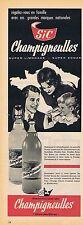 PUBLICITE ADVERTISING 114 1960 SIC CHAMPIGNEULLES super limonade super soda