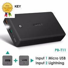 AUKEY 30000mAh USB Power Bank Pack -Quickcharge 3.0- USB-C -Over a Week of Power