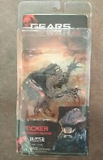 "NECA Gears of War 2 II 7"" Action Figure Ticker MOTORIZZATA azione NUOVO"