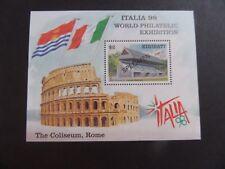 Kiribati 1998 Italia 98 Stamp Exhibition MS MS568 SPECIMEN MNH UM unmounted mint
