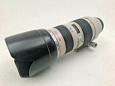 Canon 70-200mm F2.8L lens
