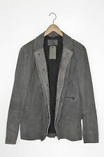 *BRAND NEW* AllSaints Mens AMHERST Leather Blazer Jacket SMALL graft survey (2)