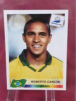 Roberto Carlos Brazil World Cup 1998 Panini Sticker