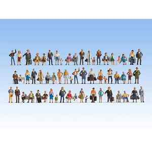 Noch 16070 1/87 H0 Characters Figurines Mega Set Crowd People Ho
