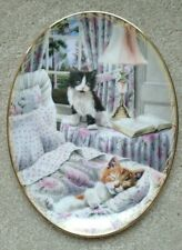 """""""Sugar and Spice"""" by Peter Fryer -Bradford Exchange - Plate - Cats"""