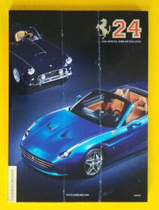 Libro Book Sportivo/Automobilismo FERRARI Magazine 25 Year 2014 Auto Formula 1