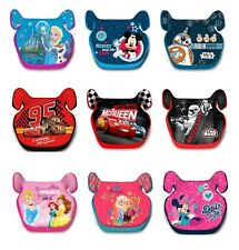 Disney Childs Car Booster Seat Group 2/3 (15-36 kgs) Cars Princes Mickey Frozen