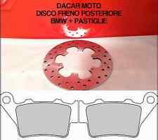 DIS1017 DISCO FRENO POSTERIORE BMW F 650 CS SCARVER 2002 2003 2004 2005 2006