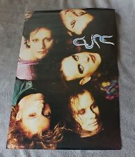 Cure 1992 Faces Robert Smith Simon Gallup Jason Cooper Brockum Poster #7165 EX