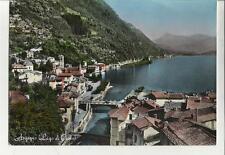 cartolina lago di como argegno  primo colore 1961