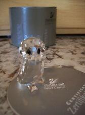 "Swarovski Silver Crystal ""OWLET"" Owl 7636NR000 001,  w/Box & COA MINT"