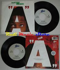 LP 45 7'' PAPA WINNIE A 1990 italy EPIC EPC 655798 7 cd mc dvd (*)