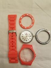 Iken Coral Build Your Own Watch With Clear Crystal Bezel