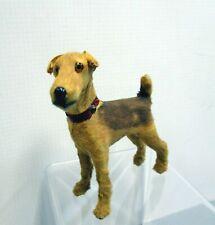 Antique Vintage Miniature Airedale Terrier Toy Dog