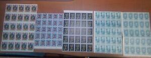 Venezuela: Lot 500 stamps in block of 25 some val. high, some val. light. VZ0880