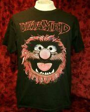 MEDIUM The Muppets Animal Untamed T-shirt Punk Rock Metal Retro Disney