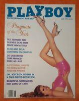 PLAYBOY MENS MAGAZINE JUNE 1995 RHONDA ADAMS TED TURNER JULIE CIALINI PMOY