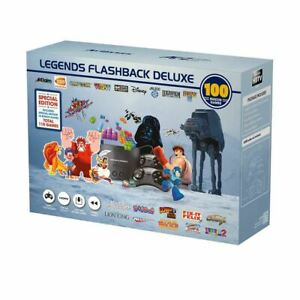Legends Flashback Deluxe Special Edition 100 + Bonus Built In Games Console - SM