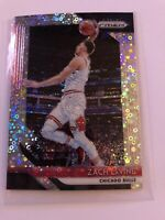 2018-19 Panini Fast Break Prizm SP Disco Silver ZACH LaVINE BULLS NO. 100