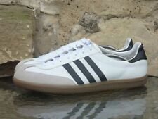 Vintage 1995 Adidas Universal UK11 Made In Poland White / Black OG 1990s 90s