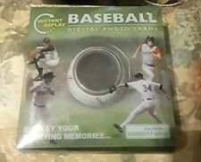 One World Essentials Instant Replay Baseball Digital Photo Frame holds 100 pics