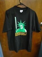 Count Down to Episode 1 NY Star Wars Promotional  Movie T Shirt Large 110819AMT2