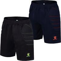 KELME Mens Zamora Football Soccer Training Goalie Goalkeeper Padded Shorts