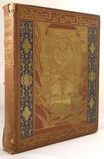 Rubaiyat of Omar Khayyam by Fitzgerald First Rene Bull Edition
