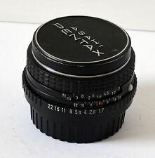 Pentax SMC M 50mm f/1.7
