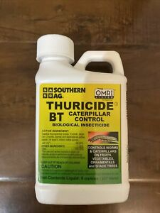 3-packSouthern AG Thuricide BT Caterpillar Control 8 oz Bacillus Thuringiensis