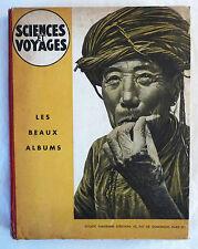 LIVRE « SCIENCES ET VOYAGES – LES BEAUX ALBUMS » 1948