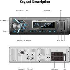 aboutBit Bluetooth Car Stereo Radio Receiver Single Din Mechless Digital CA-10BT