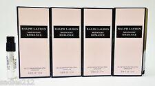 RALPH LAUREN MIDNIGHT ROMANCE 1.5ml .05oz Perfume Spray Sample Mini Vials X 4